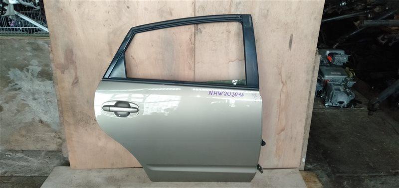 Дверь Toyota Prius NHW20 1NZ-FXE 2005 задняя правая (б/у)
