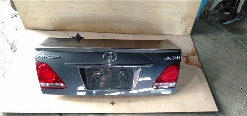 Крышка багажника Toyota Crown Athlete GRS184 2GR-FSE 2005 (б/у)
