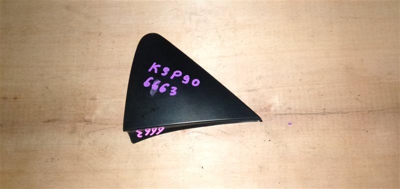 Уголок крыла Toyota Vitz KSP90 1KR 2008 левый (б/у)