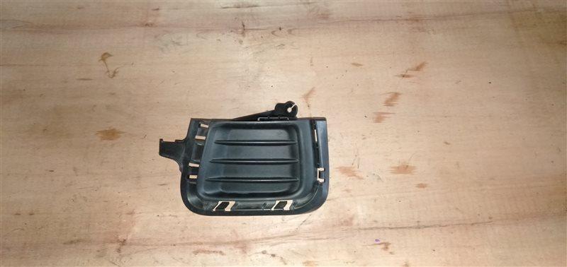 Заглушка бампера Toyota Aqua NHP10 1NZ-FXE 2013 левая (б/у)