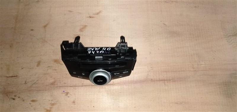 Климат-контроль Toyota Prius Alpha ZVW40 2ZR-FXE 2011 (б/у)
