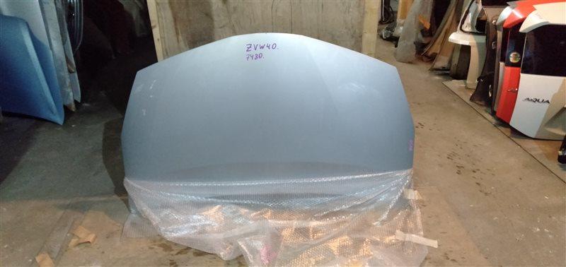 Капот Toyota Prius Alpha ZVW40 2ZR-FXE 2011 (б/у)