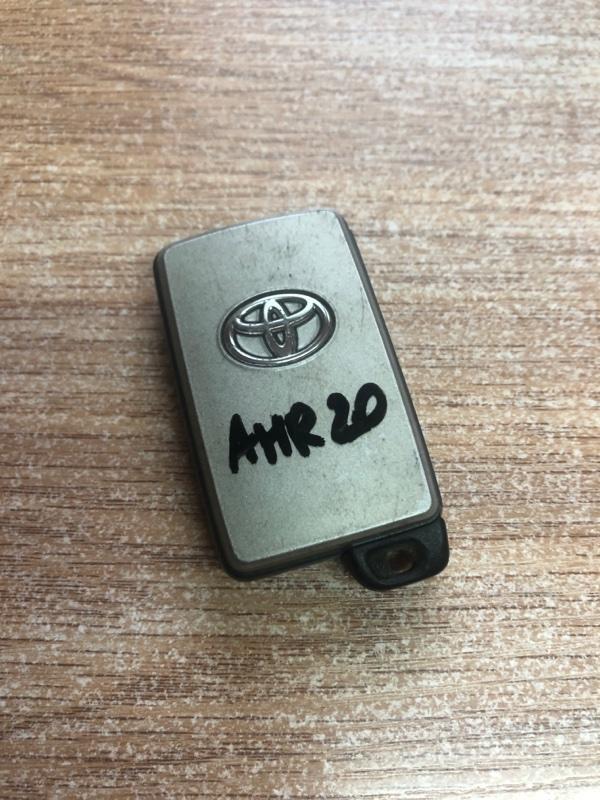Ключ зажигания Toyota Estima Hybrid AHR20 (б/у)