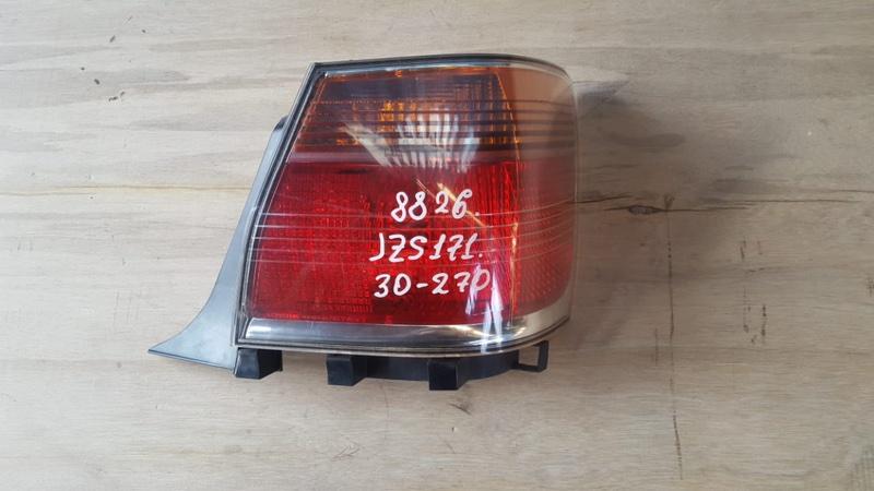 Фонарь задний Toyota Crown JZS171 1JZ-GE 2001 правый (б/у)