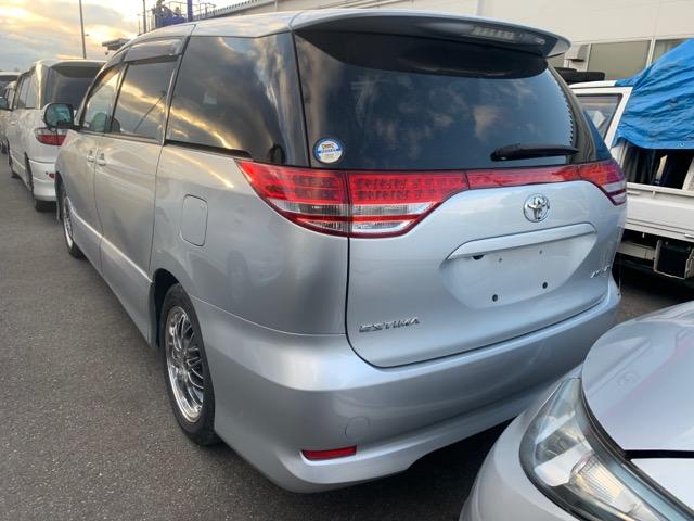 Бампер Toyota Estima ACR50 2AZ-FE 2006 задний (б/у)