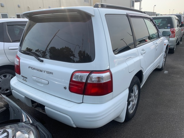 Бампер Subaru Forester SF5 EJ201 2000 задний (б/у)
