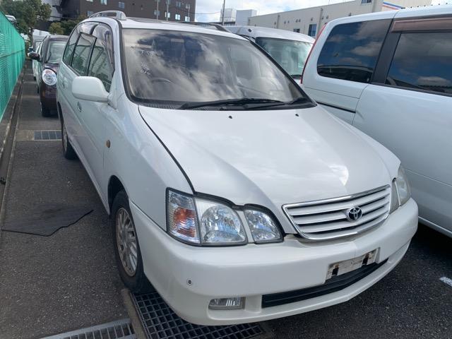 Дверь Toyota Gaia SXM15 3S-FE 2001 передняя правая (б/у)