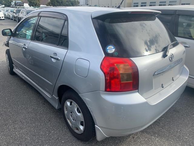 Бампер Toyota Allex NZE121 1NZ 2002 задний (б/у)