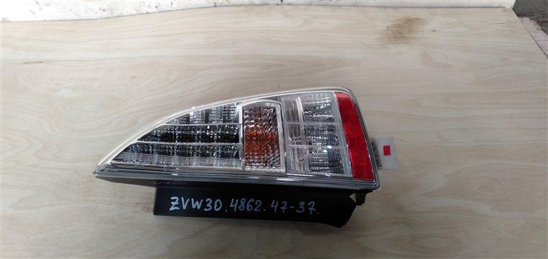 Фонарь задний Toyota Prius ZVW30 2ZR-FXE 2010 правый (б/у)