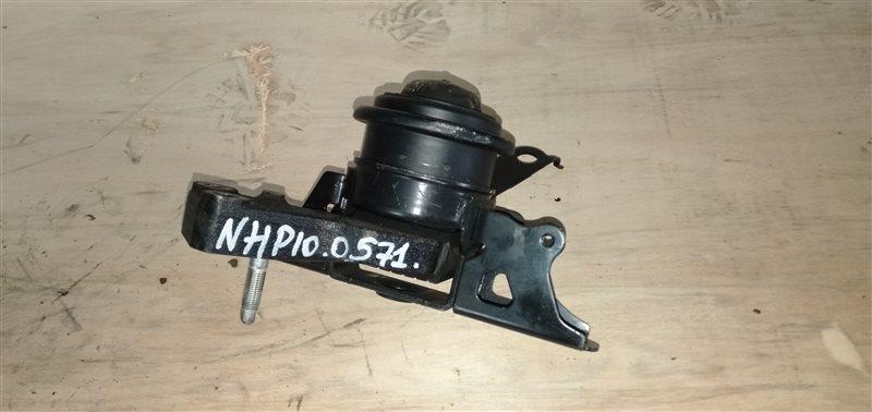 Подушка двигателя Toyota Aqua NHP10 1NZ-FXE 2012 правая (б/у)