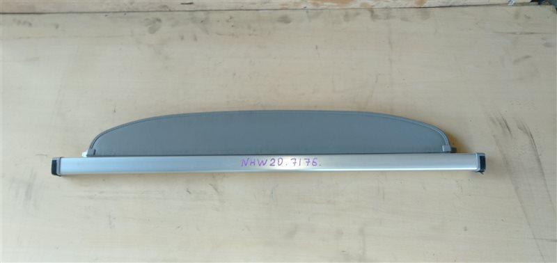 Шторка багажника Toyota Prius NHW20 1NZ-FXE 2005 (б/у)