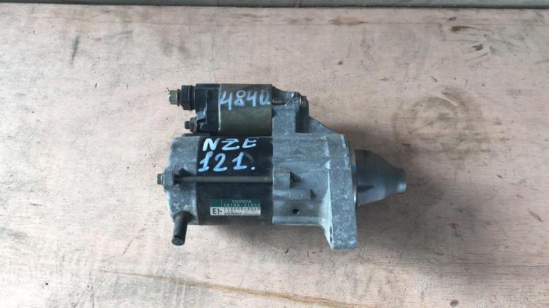 Стартер Toyota Allex NZE121 1NZ 2002 (б/у)
