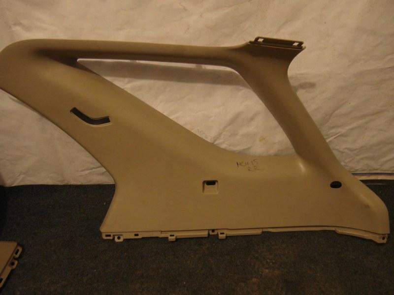 Обшивка багажника Toyota Harrier MCU15 1MZ задняя правая