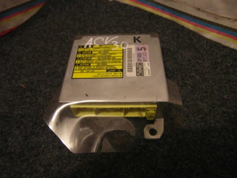 Блок управления airbag Toyota Camry ACV30 2AZ 2003