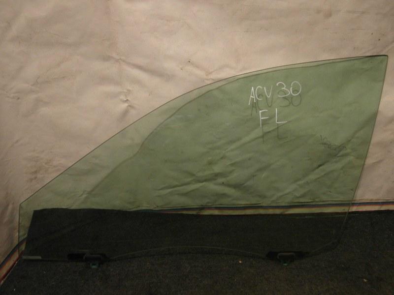 Стекло двери Toyota Camry ACV30 2AZ 2003 переднее левое