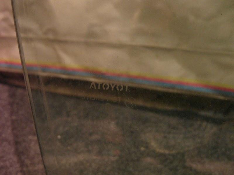 Стекло двери Toyota Camry ACV30 2AZ 2003 переднее правое