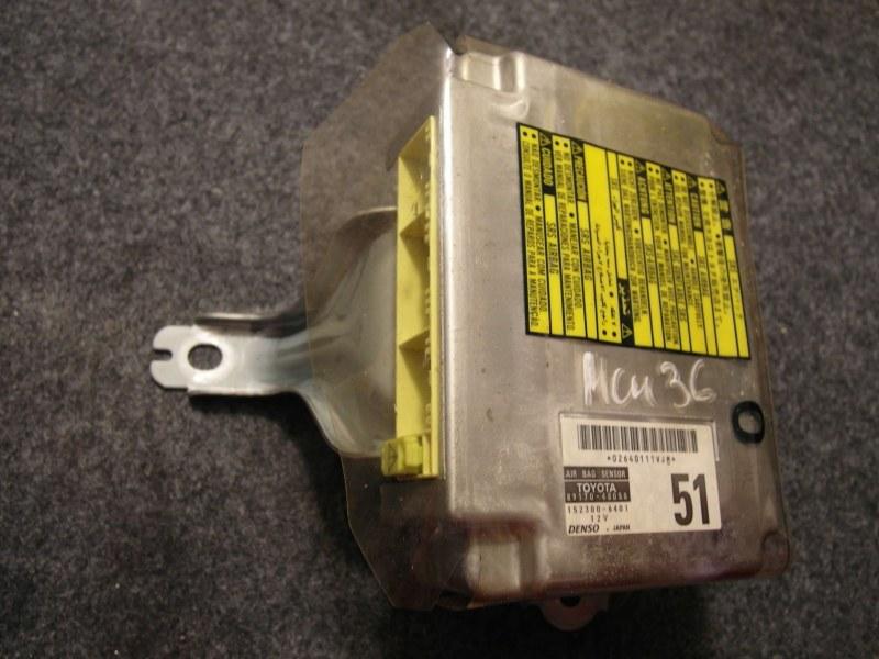 Блок управления airbag Toyota Harrier ACU30