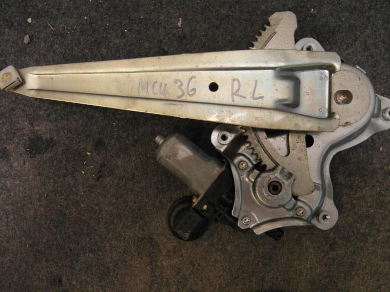 Стеклоподъемник Toyota Harrier ACU30 1MZ-FE задний левый