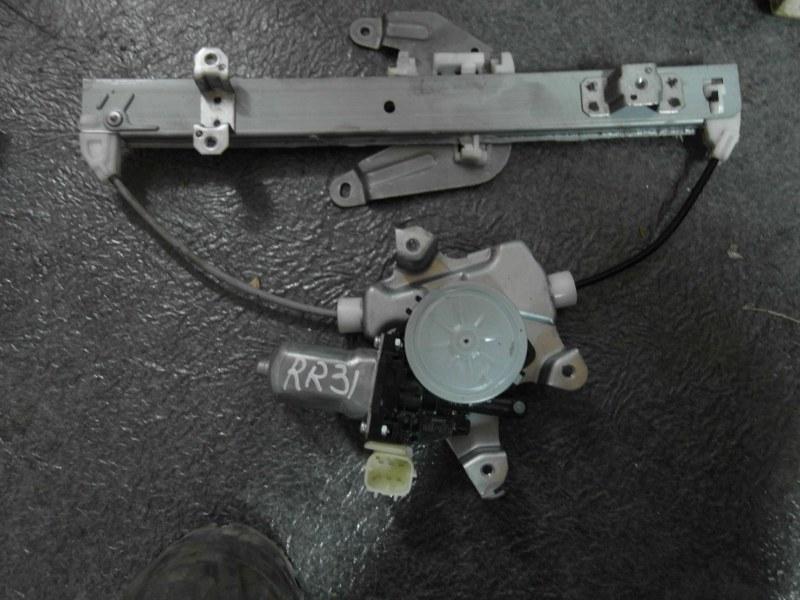 Стеклоподъемник Nissan X-Trail TNT31 QR25DE 2007 задний правый
