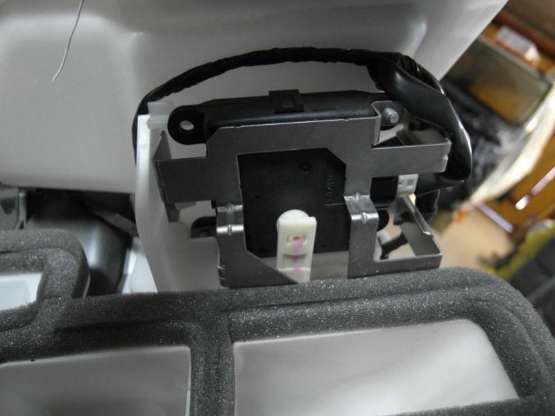 Сервопривод заслонок печки Nissan X-Trail TNT31 QR25DE 2007