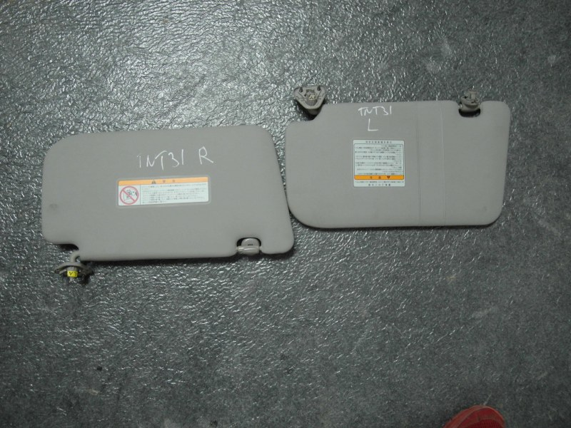 Козырек Nissan X-Trail TNT31 QR25DE 2007