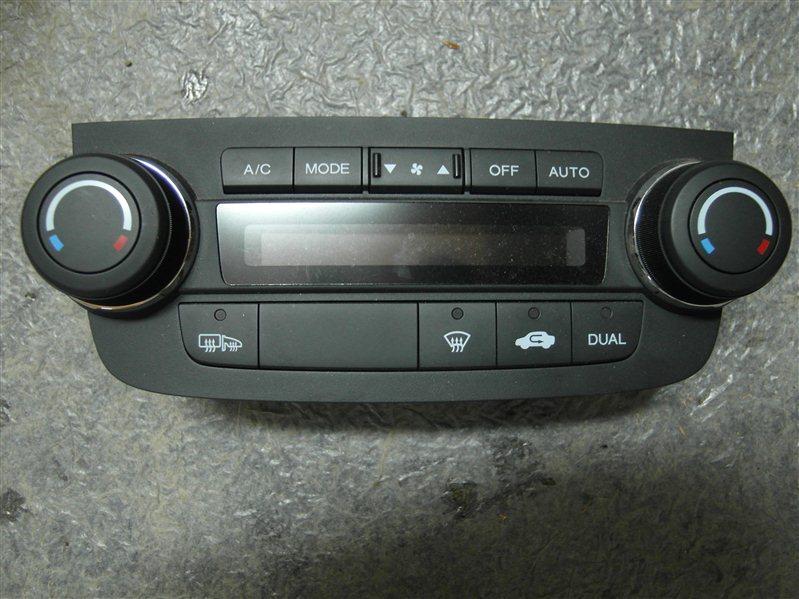 Блок управления климат-контролем Honda Cr-V RE3 K24A 2007