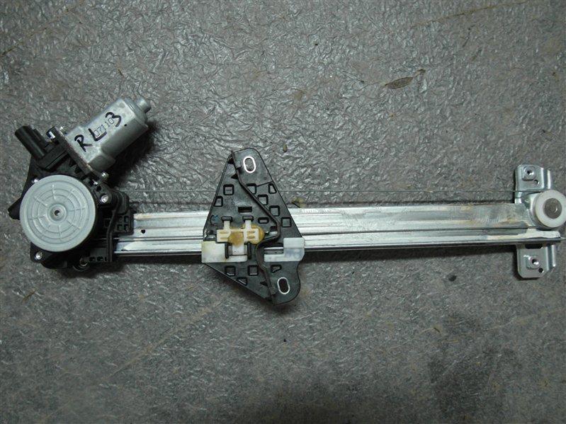 Стеклоподъемник Honda Cr-V RE3 K24A 2007 задний левый
