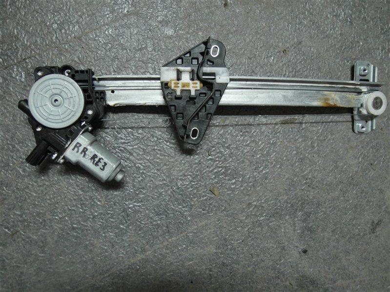 Стеклоподъемник Honda Cr-V RE3 K24A 2007 задний правый