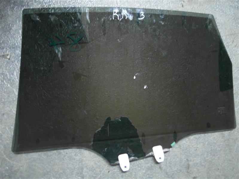 Стекло двери Honda Cr-V RE3 K24A 2007 заднее правое