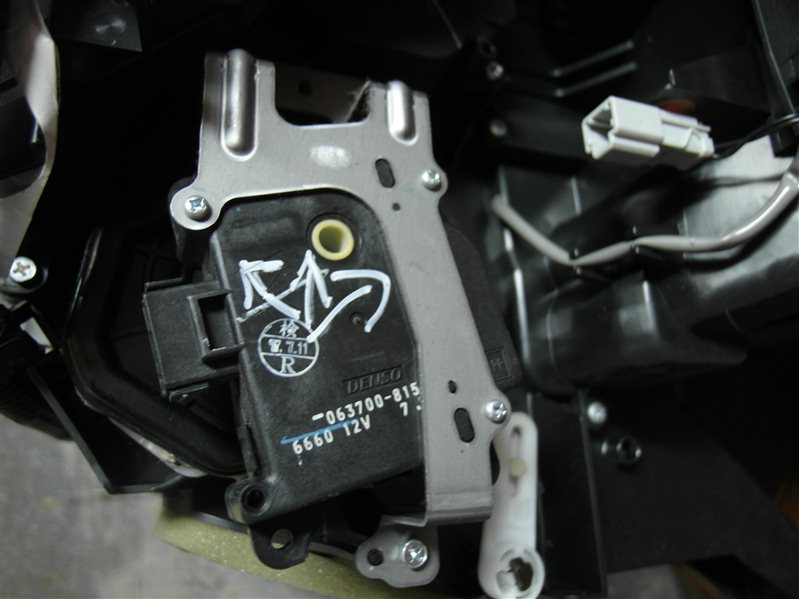 Сервопривод заслонок печки Honda Cr-V RE3 K24A 2007