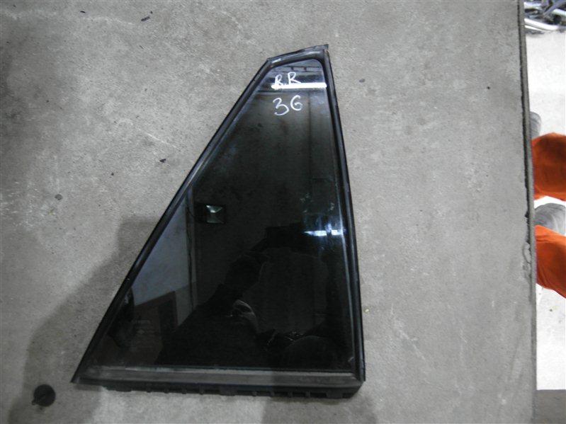 Стекло двери Toyota Harrier MCU36 1MZ-FE 2003 заднее правое