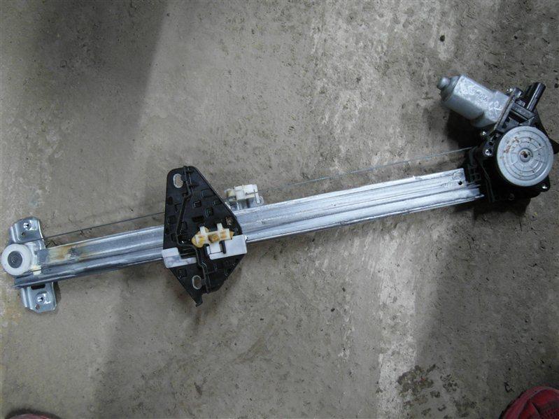 Стеклоподъемник Honda Cr-V RE3 K24A 2007 передний правый
