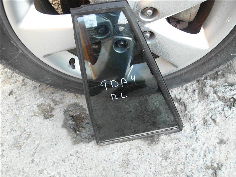 Стекло двери Suzuki Escudo/grand Vitara TDA4 J24B 2008 заднее левое