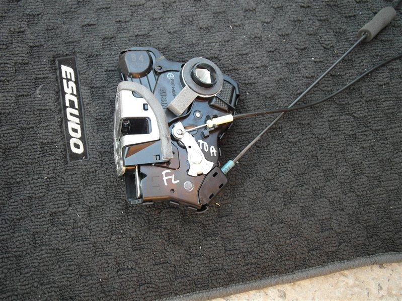 Замок двери Suzuki Escudo/grand Vitara TDA4 J24B 2008 передний левый
