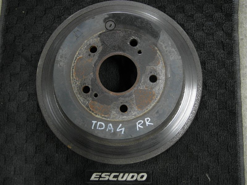 Тормозной диск Suzuki Escudo/grand Vitara TDA4 J24B 2008 задний