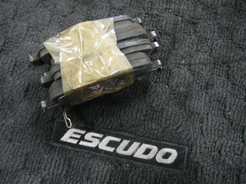 Тормозные колодки комплект Suzuki Escudo/grand Vitara TDA4 J24B 2008 заднее