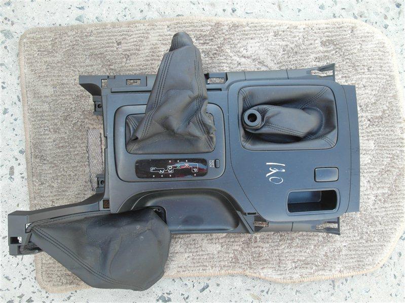 Накладка на торпеду Toyota Land Cruiser Prado VZJ120 5VZ-FE 2003