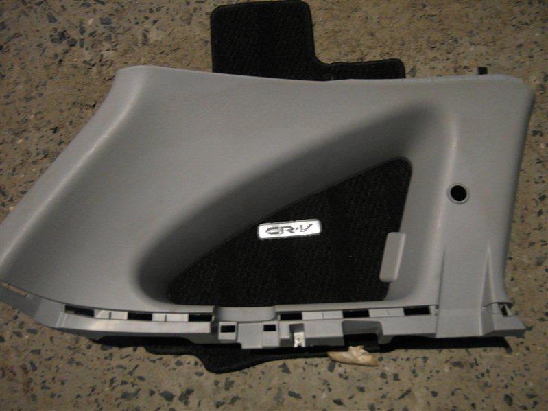 Обшивка багажника Honda Cr-V RE4 K24A 2008 левая