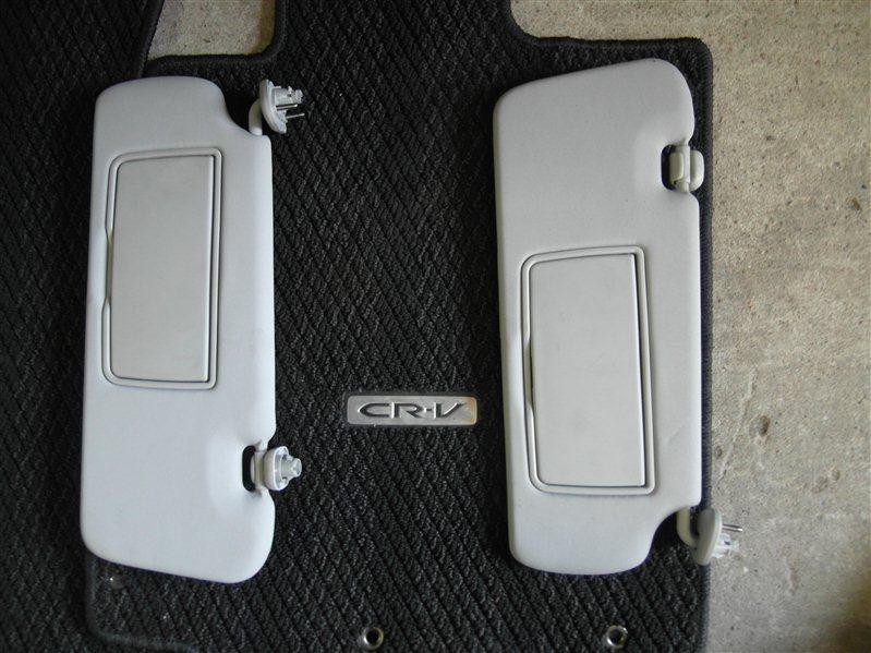 Козырек Honda Cr-V RE4 K24A 2008