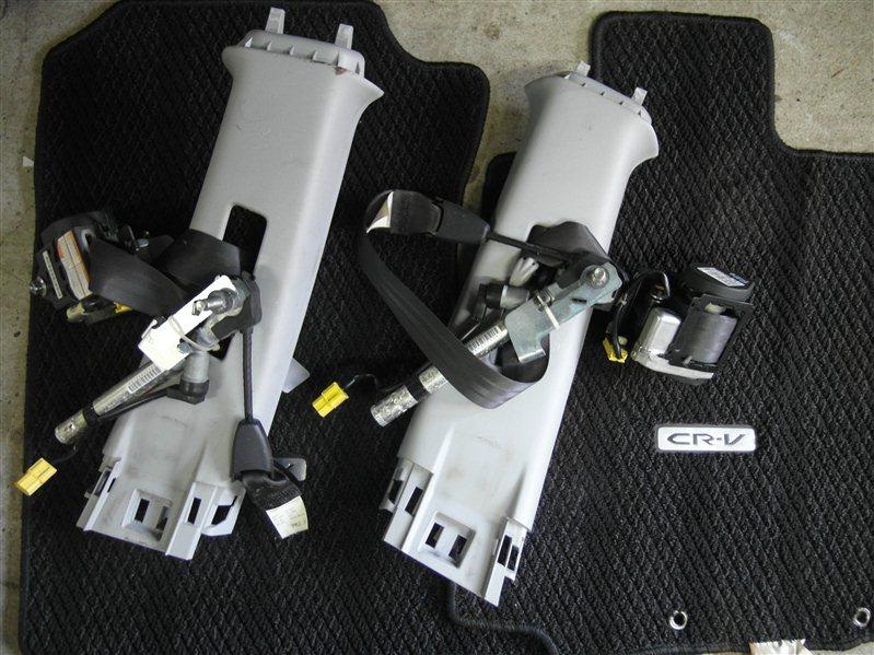 Ремень безопасности Honda Cr-V RE4 K24A 2008 передний