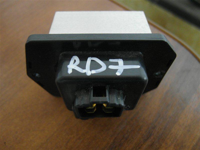 Резистор Honda Cr-V RD7 K24A 2006
