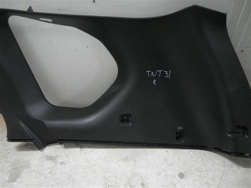 Обшивка багажника Nissan X-Trail TNT31 QR25DE 2007 правая