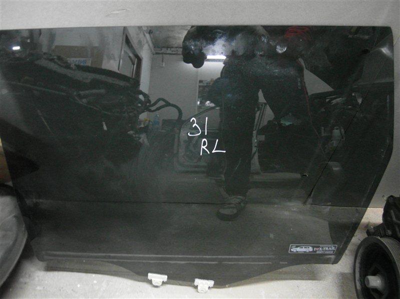 Стекло двери Nissan X-Trail TNT31 QR25DE 2007 заднее левое