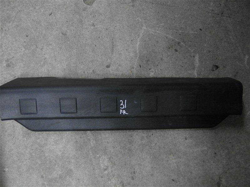 Накладка на порог Nissan X-Trail TNT31 QR25DE 2007 передняя правая