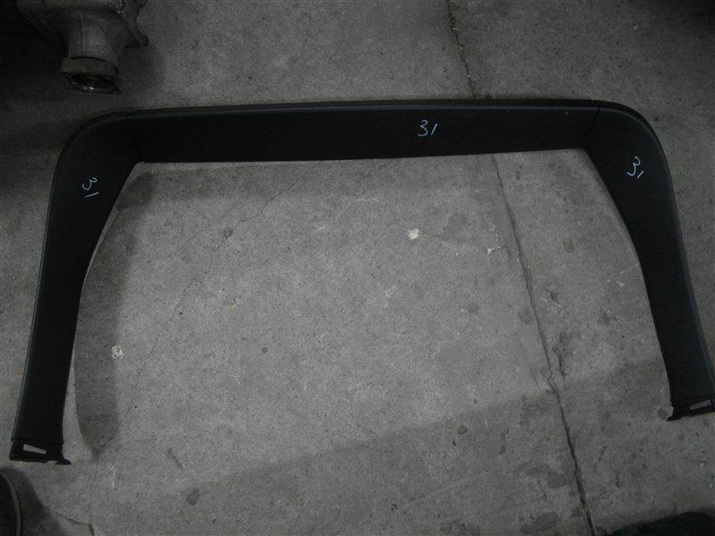 Обшивка багажника Nissan X-Trail TNT31 QR25DE 2007