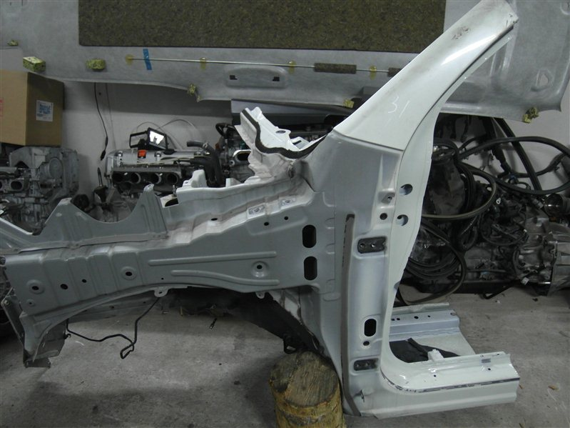Лонжерон Nissan X-Trail TNT31 QR25DE 2007 левый