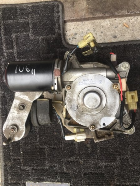Мотор сдвижной двери Toyota Hiace KZH106W 1KZ-FE 1996