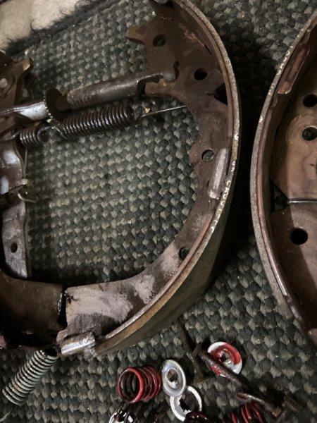 Механизм стояночного тормоза Toyota Lite Ace CR31 3CT 1996
