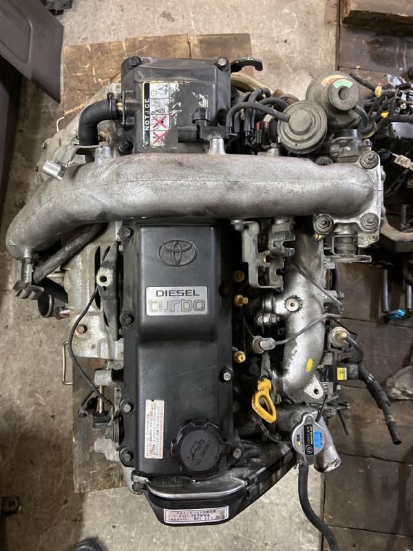 Двигатель Toyota Hiace KZH106W 1KZ-TE 1995