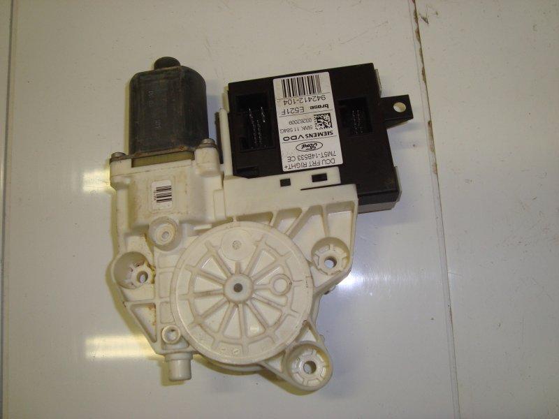 Мотор стеклоподъемника Ford Focus 2 DIESEL 2009 передний правый (б/у)